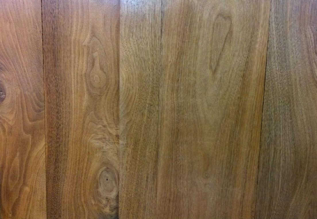 Walnut panels - sealed